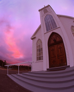 Fire in the Sky from St.Theresa Church | by RZ68