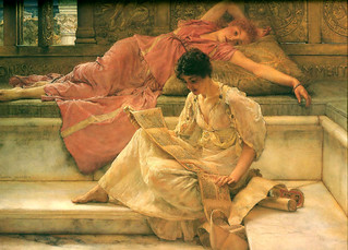 Alma-Tadema 'The Favorite Poet' 1888 | by Plum leaves