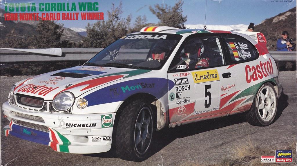 Toyota Corolla Wrc 1998 Monte Carlo Hasegawa 250246 Cr