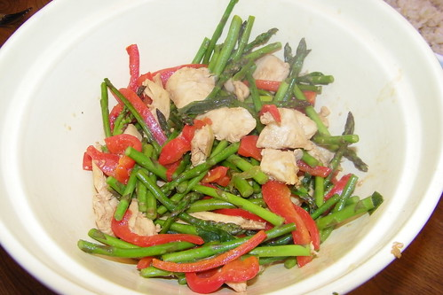 Chicken and Asparagus Stir Fry | by cseeman