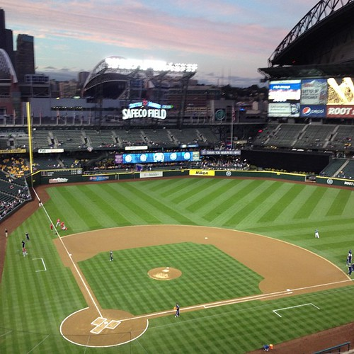 October Baseball in Seattle | by papahazama