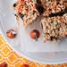 Pumpkin Spice Oreo Crispy Bars