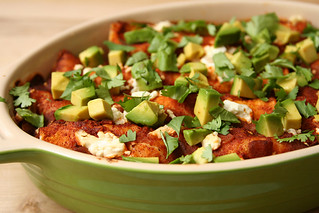 zucchini goat cheese enchiladas 10 | by crumblycookie