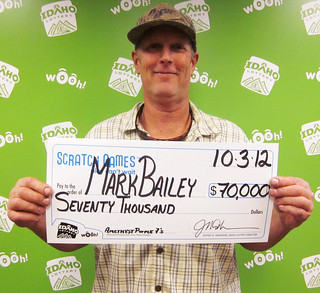 Mark Bailey - $70,000 Amethyst Purple 7's | by Idaho Lottery