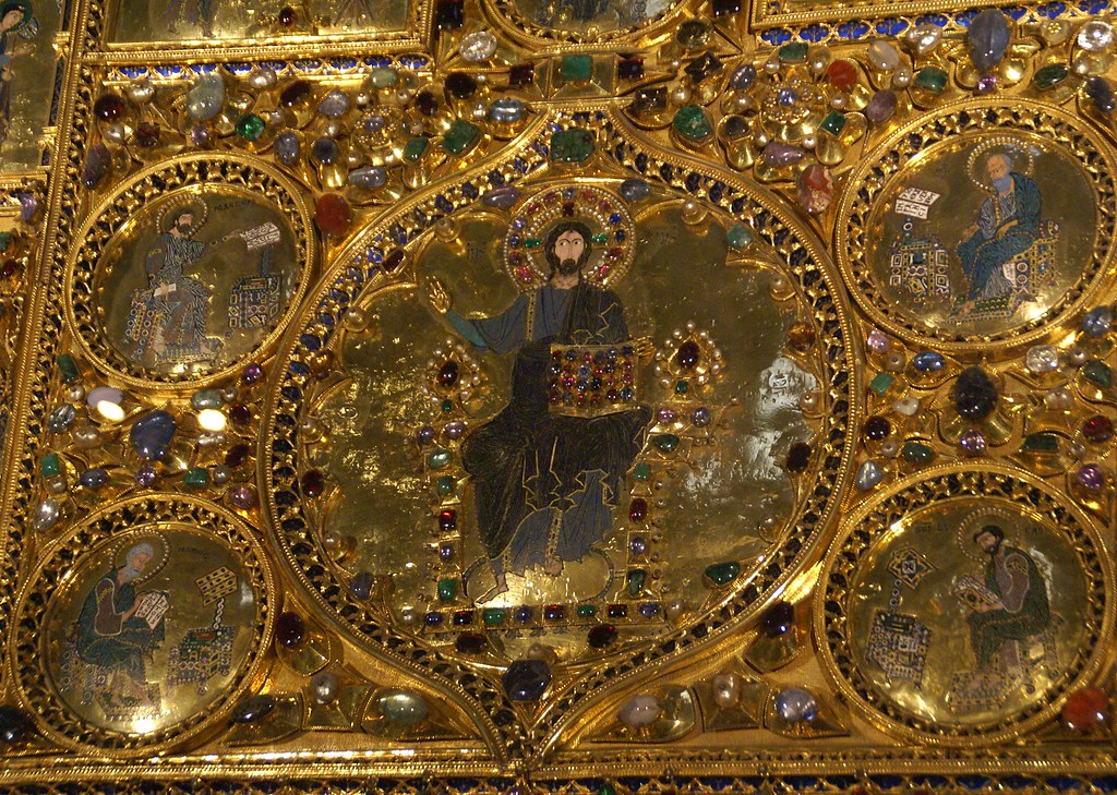 Venedig piazza san marco basilica di san marco pala d 39 o for Pala de oro