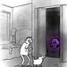 The purple skull of gladness