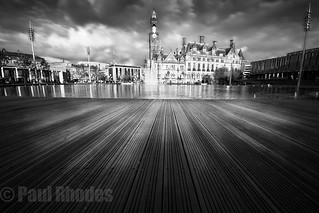 Bradford City Park B&W + WM | by Paul.Rhodes