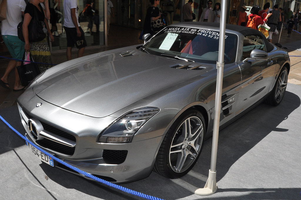 mercedes benz sls amg roadster exposition aix en provence flickr. Black Bedroom Furniture Sets. Home Design Ideas