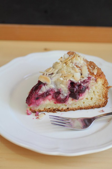 Cherry Cream Cheese Cake Recipe — Dishmaps