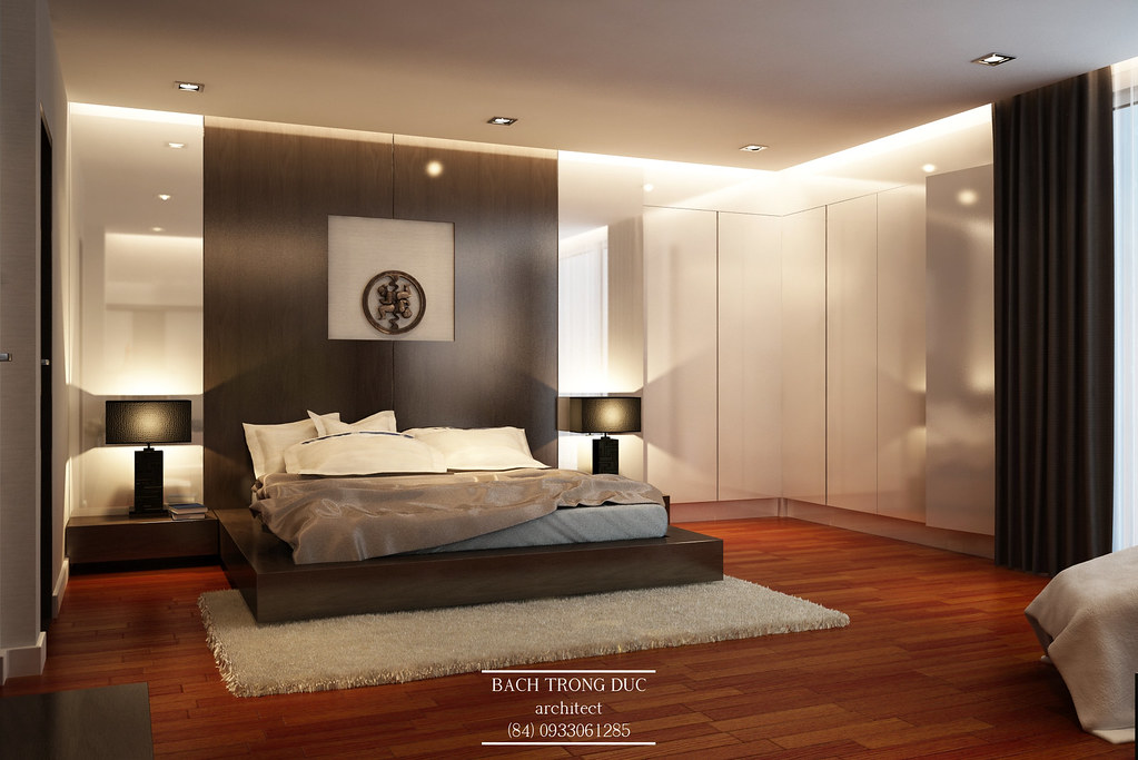 Interior design master bedroom bach trong duc flickr for Master bedroom interior designs