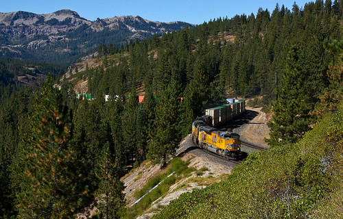 Union Pacific ZG2LT at Andover on Donner Pass | by Jake Miille