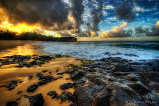 Morning greats me at the Hyatt - A morning stroll in Kauai, Hawaii | by MDSimages.com