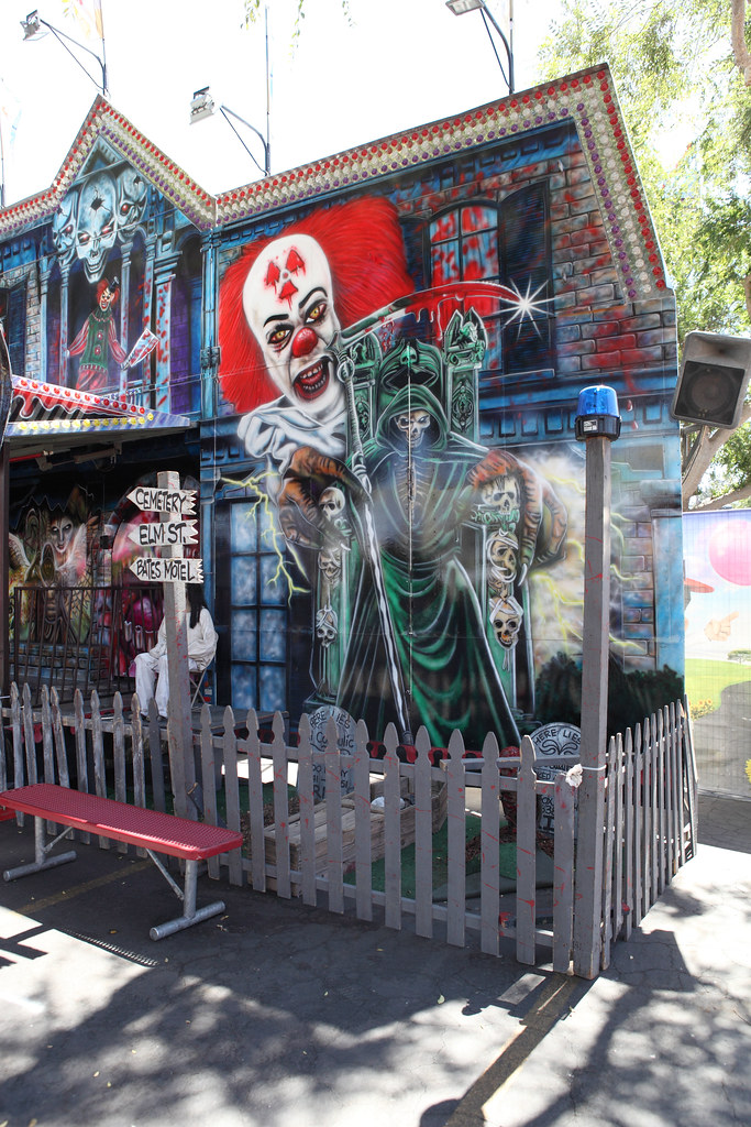 Haunted house california mckamey manor theme park for Anti ride maison