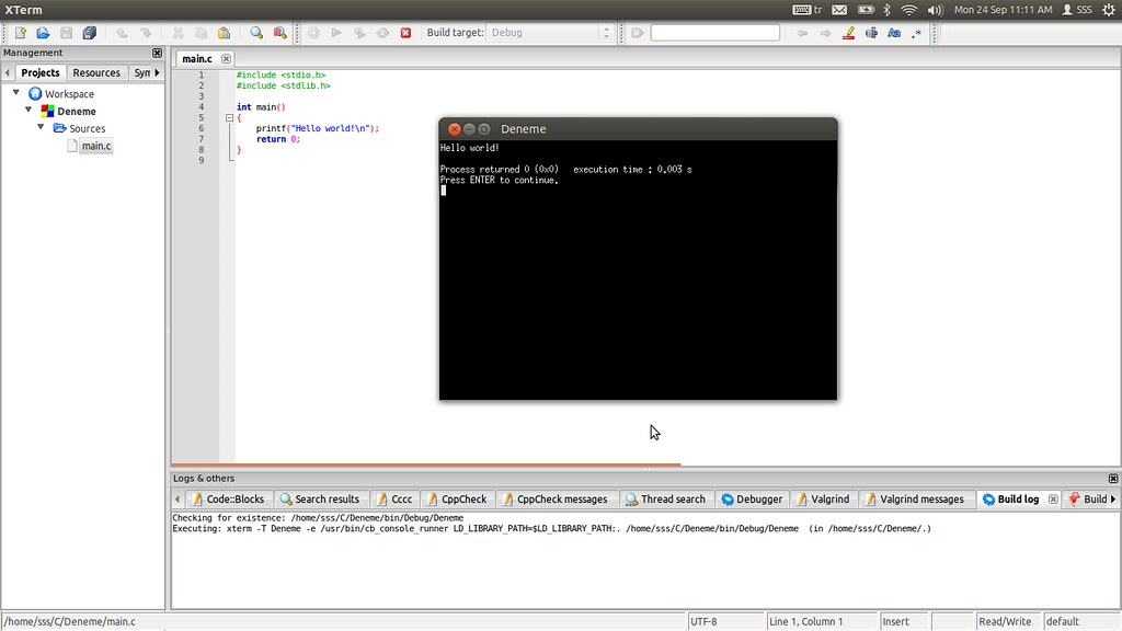 Codeblocks Free Ide For C C Programming Ubuntu