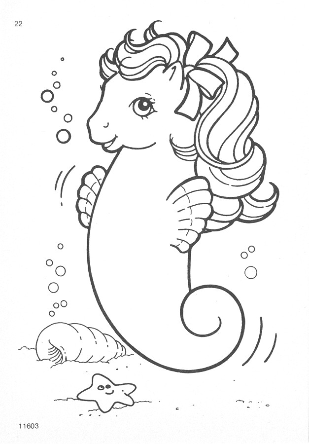 My little pony g1 coloring pages natasja doe flickr for My little pony easter coloring pages
