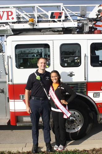 NAMiss Indiana with Carmel Fire Department | by Official National American Miss Pictures