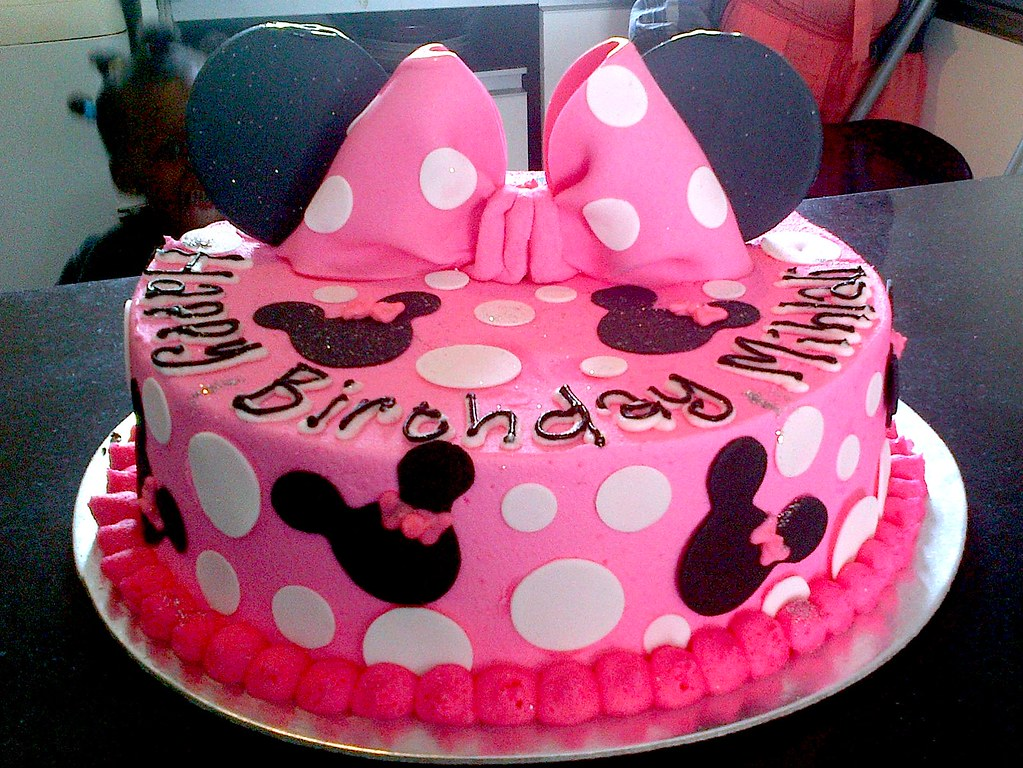 Polka Dot Decorated Cakes