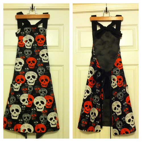 Skull Apron | by Especially Cute