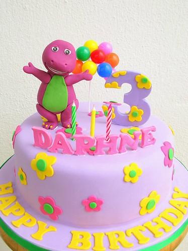 barney cake - photo #4