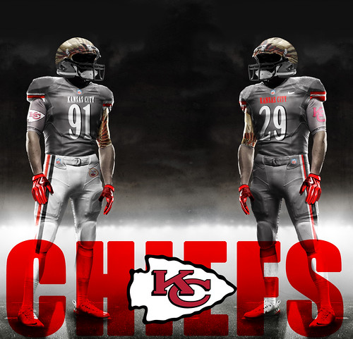 chiefs grey | by Charles Sollars Concepts