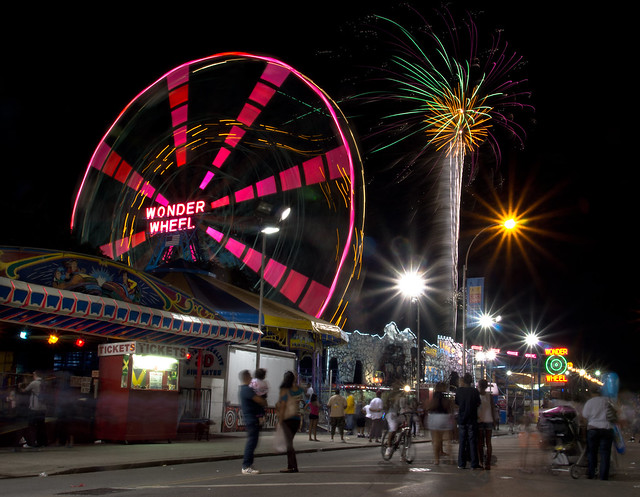 Coney Island Fireworks Memorial Day