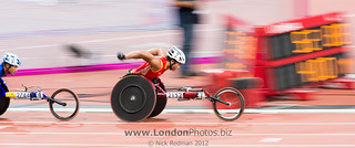 Paralympics at London 2012 - Athletics, Stratford Stadium | by Reds.