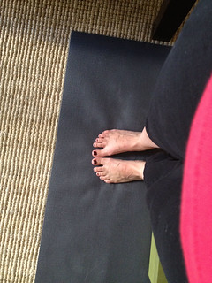 Yoga toes | by laura pants