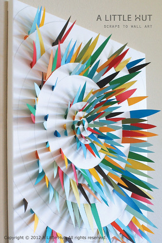 scraps to wall art 4 | by Patricia Zapata