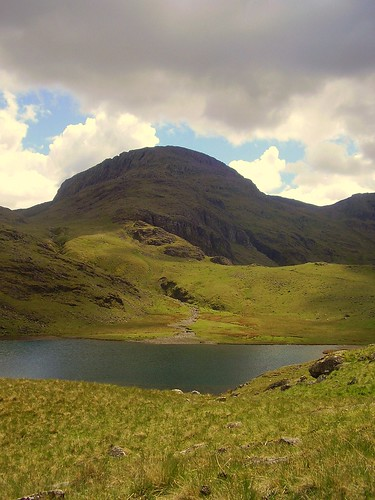 Sty head tarn and Great end. | by Steven Ruffles