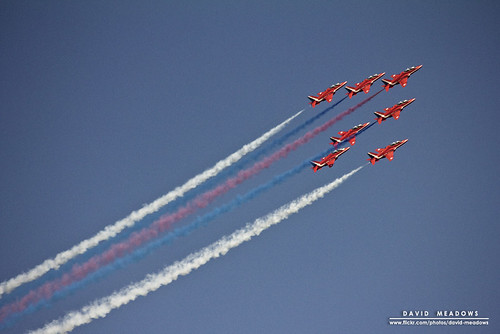 Red Arrows | by DMeadows