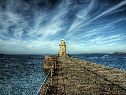 The lighthouse on Guernsey | by neilalderney123