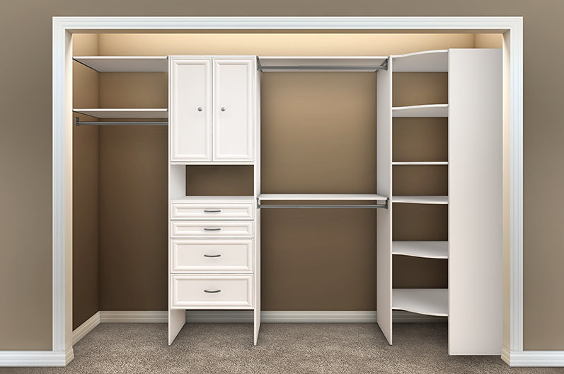 Closetmaid Storage Cabinet Inch Wide Ge Cabinet Mobile: Selectives Reach-In Bedroom 4 Empty