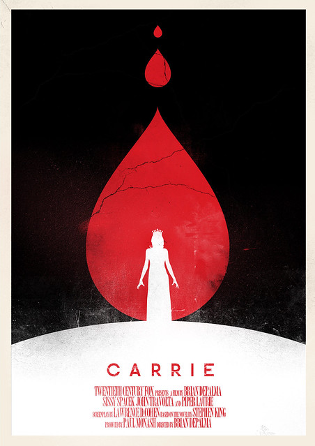 phrame designs poster carrie 1976 flickr photo