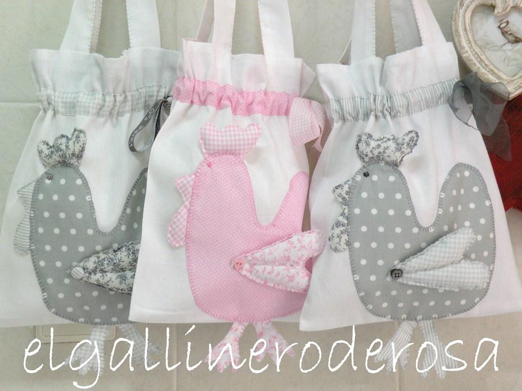 Nuevas bolsas con gallina para la merienda de los ni os for Guarda cosas para jardin