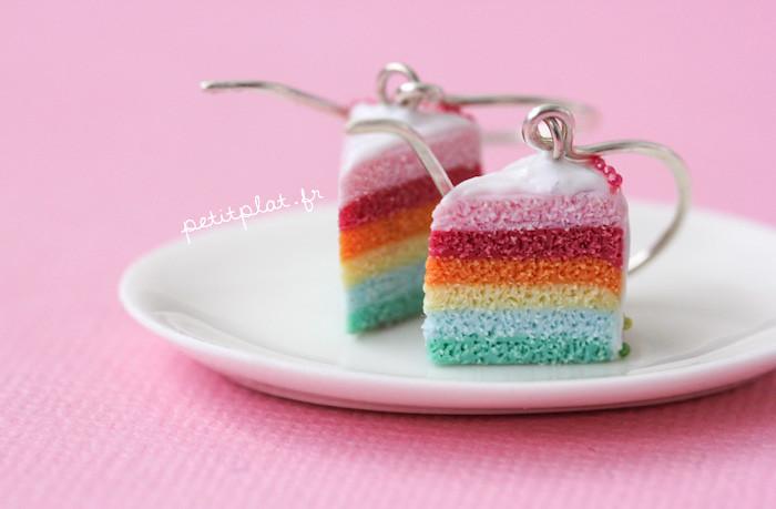 Pastel Rainbow Cake Pinterest
