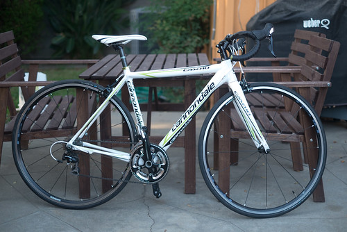 My new Cannondale CAAD10 5 | by lucy...