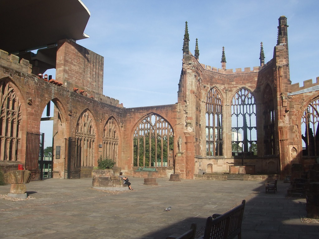 Coventry cathedral ruins coventry 39 s cathedral is a for The coventry