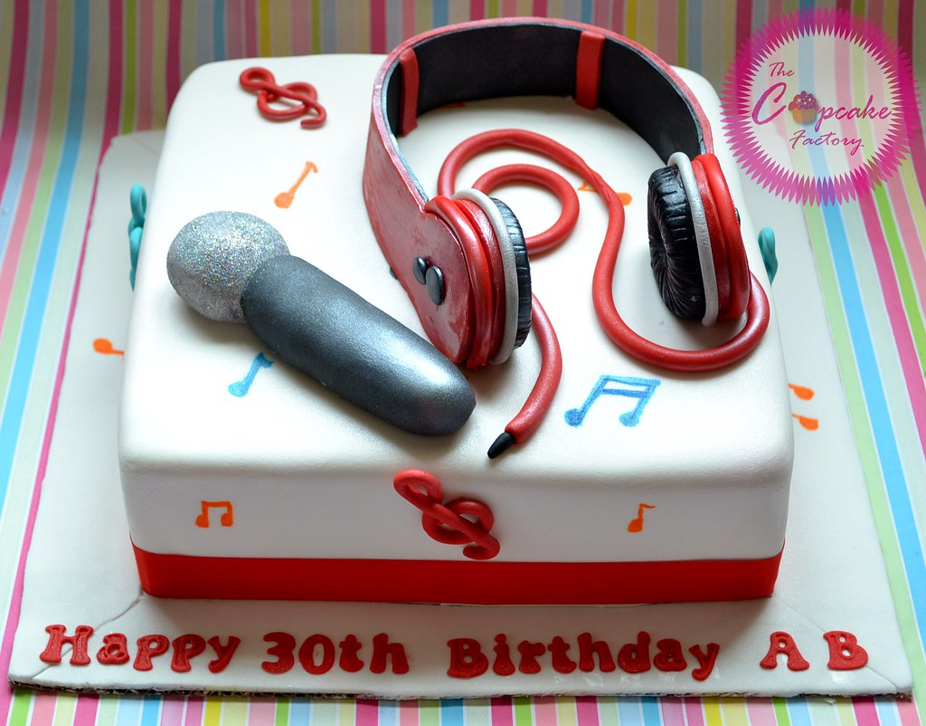 Image Result For Headphone Birthday Cakes