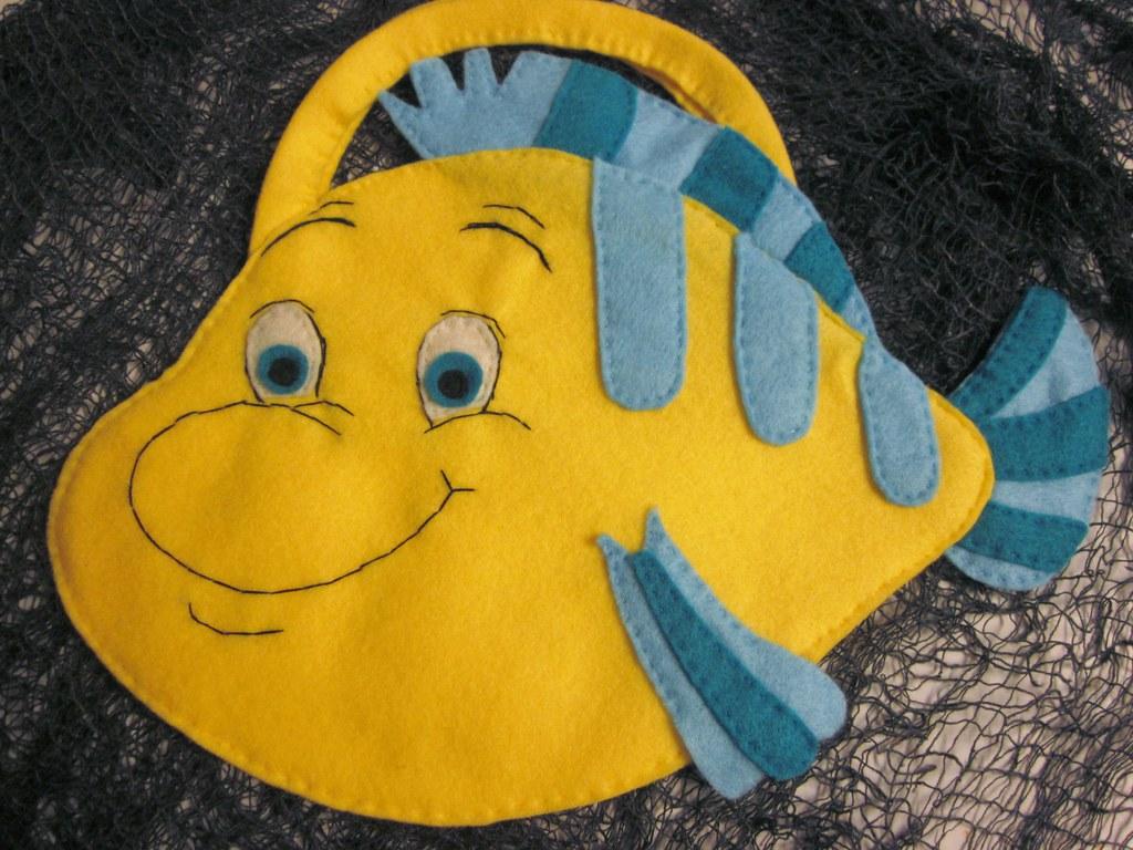 Little Mermaid Flounder Trick Or Treat Bag A Special Order Flickr