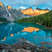 Moraine Lake Yellow Mountains