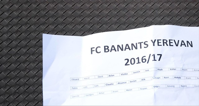 Banants official team photo.