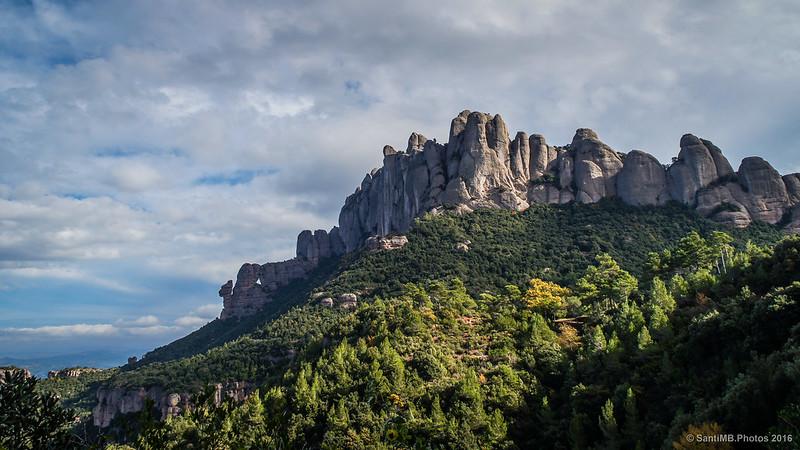 Última mirada a Montserrat