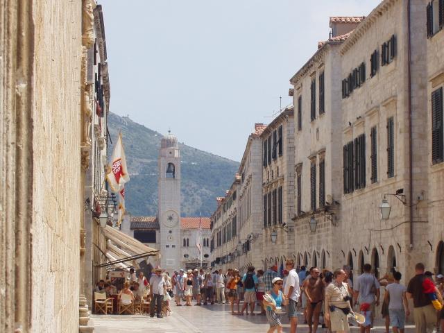 Stradun, la calle más importante de Dubrovnik