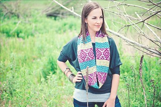 Mojave Cowl | by bitches get stitches