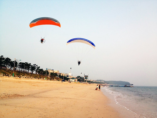 Gliding into Daecheon Beach | by Nancie McK