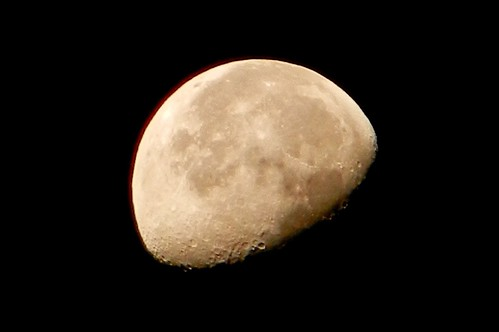 Waning Gibbous Moon, 10:25pm | by DaveJC90