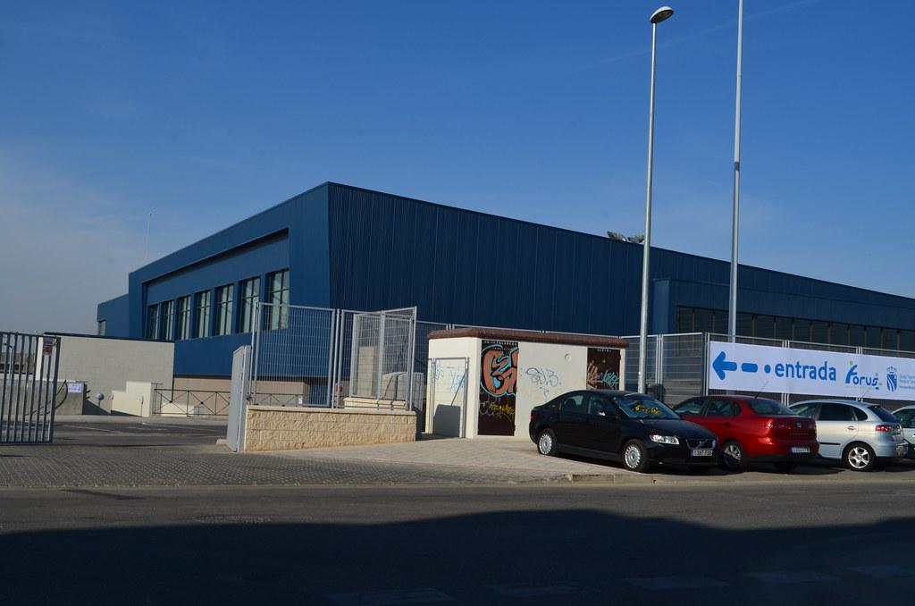 Visita al centro deportivo forus fuenlabrada manuel for Gimnasio forus