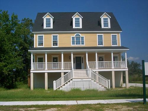 Custom coastal design nationwide homes flickr for Custom beach house plans