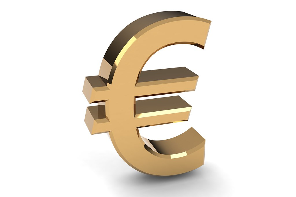 3d euro symbol please give attribution to ccpixscom
