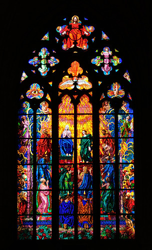Prague : Stained glass / St. Vitus Cathedral / Katedrála svatého Víta - 9/10 | by Pantchoa